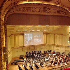 Photo taken at Powell Hall by Lori K. on 4/29/2012