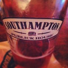 Photo taken at Southampton Publick House by Skye G. on 8/31/2012