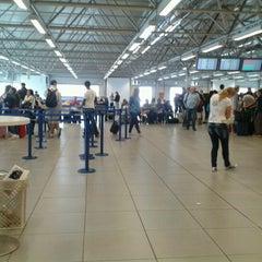 """Photo taken at Aeroporto di Roma Ciampino """"Giovan Battista Pastine"""" (CIA) by Santine K. on 7/23/2012"""