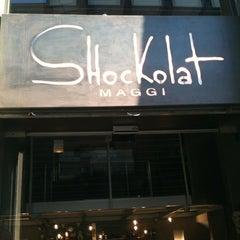 Photo taken at Shockolat by Teresa C. on 5/2/2012