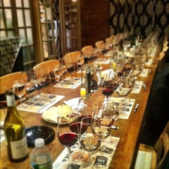Photo taken at Chelsea Wine Vault by ryo on 6/8/2012