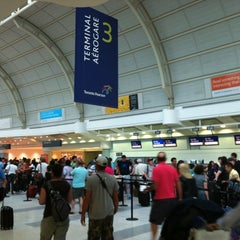 Photo taken at Terminal 3 by Nuno L. on 7/4/2012