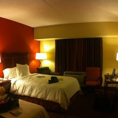 Photo taken at Hampton Inn Convention Center by Alap S. on 6/7/2012