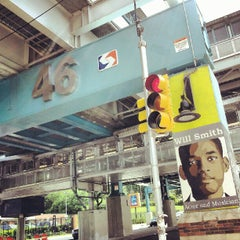 Photo taken at SEPTA: MFL 46th Street Station by Christopher B. on 6/13/2012