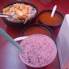 Photo taken at Tortas El Rey by Alejandro A. on 4/13/2012