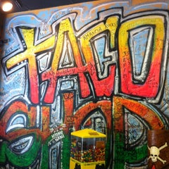 "Photo taken at A1A Burrito Works "" The Taco Shop"" by Pastor Leslie T. on 6/15/2012"
