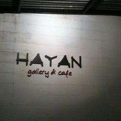 Photo taken at Hayan gallery cafe' by Kamonchanok R. on 6/9/2012