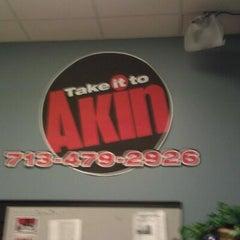Photo taken at FOX 26 (KRIV-TV) by Debra K. on 2/20/2012