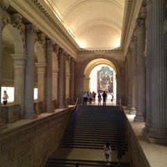 Photo taken at The Great Hall at The Metropolitan Museum of Art by Alan B. on 9/4/2012