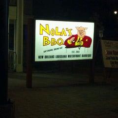 Photo taken at Nola's Waterfront BBQ by Dino K. on 5/13/2012