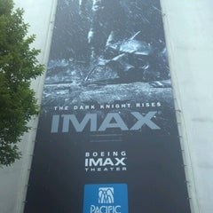 Photo taken at Boeing IMAX Theater by Gino M. on 7/21/2012