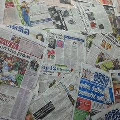Photo taken at Ceylon Today Newspaper by dilshan g. on 9/3/2012
