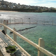 Photo taken at Bronte Beach Pool by Charli H. on 4/16/2012