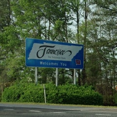 Photo taken at Georgia/Tennessee State Line by Laura K. on 3/30/2012