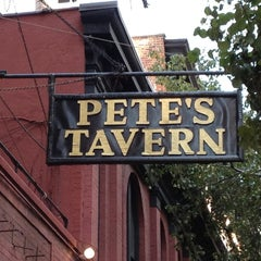 Photo taken at Pete's Tavern by Eric O. on 8/26/2012