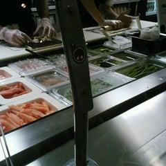 Photo taken at Rollbotto Sushi by Kris-ten P. on 7/28/2012