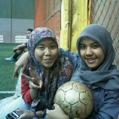 Photo taken at Arrayan Futsal by Arin Aulia W. on 9/7/2012