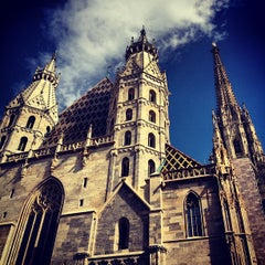 Photo taken at Stephansdom | St. Stephen's Cathedral by Bruno F. on 8/22/2012