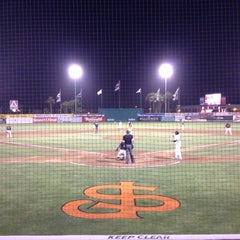 Photo taken at San Jose Municipal Stadium by Jeremy P. on 6/15/2012
