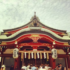 Photo taken at 水天宮 by Masahisa F. on 7/24/2012