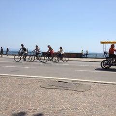 Photo taken at Via Francesco Caracciolo by Mario D. on 5/19/2012