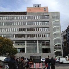 Photo taken at Facultad de Ciencias Económicas (UBA) by Kim M. on 7/31/2012