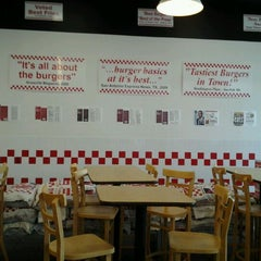 Photo taken at Five Guys by Steph B. on 7/1/2012
