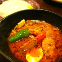 Photo taken at Soup Curry lavi エスタ(ESTA)店 by Iwao Y. on 5/24/2012