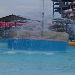 Photo taken at Gulf Islands Waterpark by Amy C. on 6/12/2012