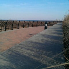 Photo taken at Raritan Bay Waterfront Park by Nancy J. on 3/7/2012