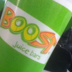 Photo taken at Boost Juice by Israel T. on 7/15/2012