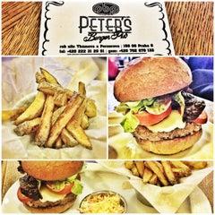 Photo taken at Peter's Burger Pub by S.kipp on 2/20/2013