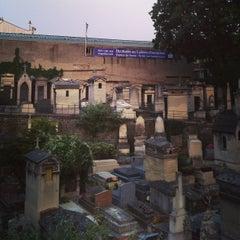 Photo taken at Cimetière de Montmartre by Philipp S. on 7/10/2013