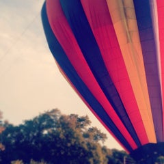 Photo taken at US Hot Air Balloon Team - Lancaster by Rachel S. on 9/16/2012