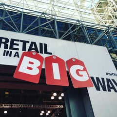 Photo taken at Retail's BIG Show (NRF) by Vincent D. on 1/19/2016
