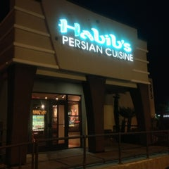 Photo taken at Habib's Persian Cuisine by Abdulrahman A. on 4/7/2013