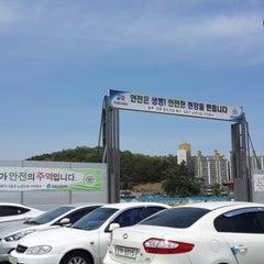 Photo taken at 강릉역 (Gangneung Stn.) by IWitt I. on 5/17/2015