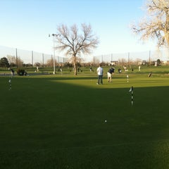 Photo taken at Overland Park Golf Course by Aaron L. on 4/27/2013