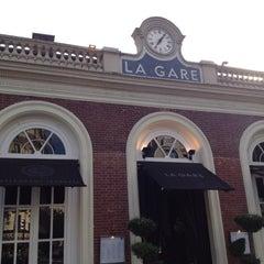 Photo taken at La Gare by SamK on 6/6/2013