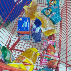Photo taken at LotteMart by Hana S. on 7/17/2014