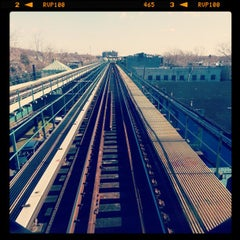 Photo taken at MTA Subway - Cypress Hills (J) by J D. on 12/19/2012