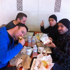 Photo taken at Mighty Taco by David R. on 11/10/2012