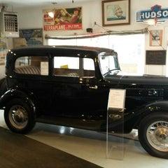 Photo taken at Miller Motors Hudson Auto Museum by Jim G. on 4/4/2014