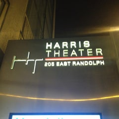 Photo taken at Harris Theatre for Music and Dance by Steve S. on 1/25/2013