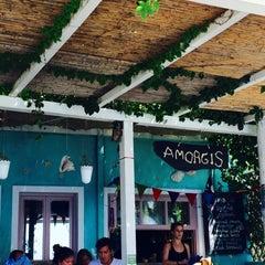 Photo taken at Αμοργίς (Amorgis) by AryaExgelastef 🐒 on 8/20/2015