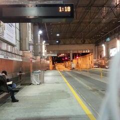 Photo taken at MBTA World Trade Center Station by Kapado F. on 4/6/2014