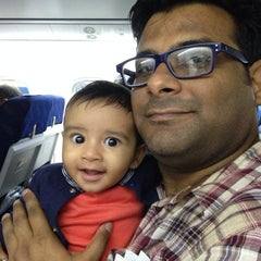 Photo taken at Jet Airways Checkin by Gaurav B. on 8/14/2014