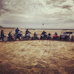 Photo taken at El Mirage Dry Lake by Ryan J Orr on 1/26/2014