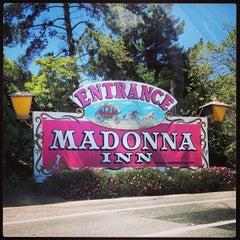 Photo taken at Madonna Inn by Beto & Gigi on 4/12/2013
