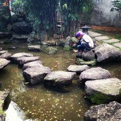Photo taken at Jardim Oriental by Bruno S. on 5/20/2012